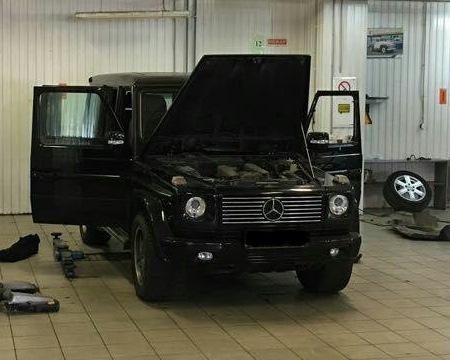 Mercedes G 5.5 AMG